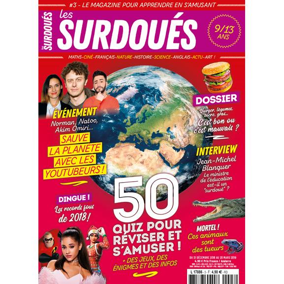 Couverture du magazine les Surdoués n°3