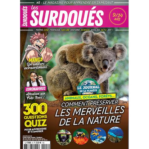 Les Surdoués magazine abonnement 2 ans - couverture n°8
