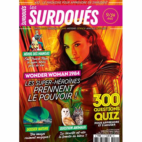 Les Surdoués magazine n°10 - couverture
