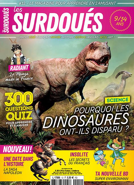 Les Surdoués magazine - couverture du n°12