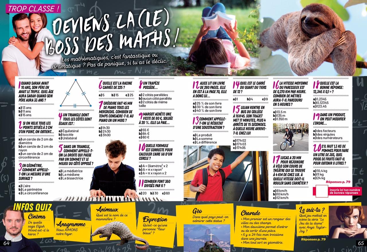 Les surdoues magazine-n12_qiz mathematiques