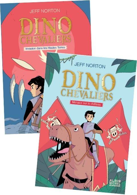 Dinochevaliers Tome 1 et 2_magazine Les Surdoues