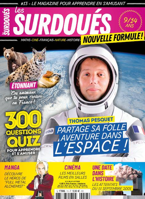 Magazine Les Surdoues _Couverture du n13