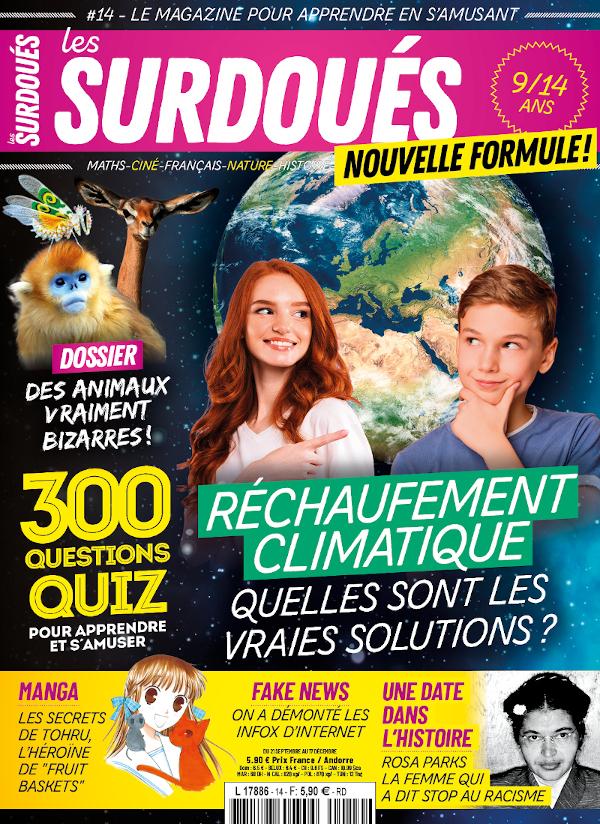 Couverture les Surdoués magazine n°14